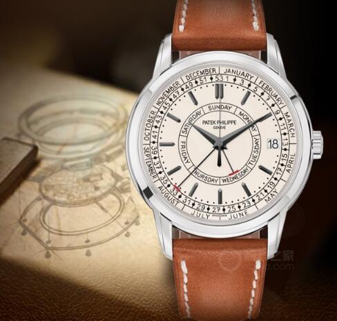 Create new features Tasting Patek Philippe's new Calatrava series calendar watch