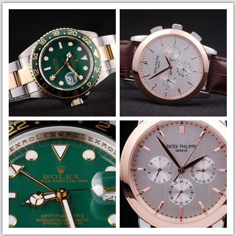 Rolex replica or a Patek Philippe replica watches
