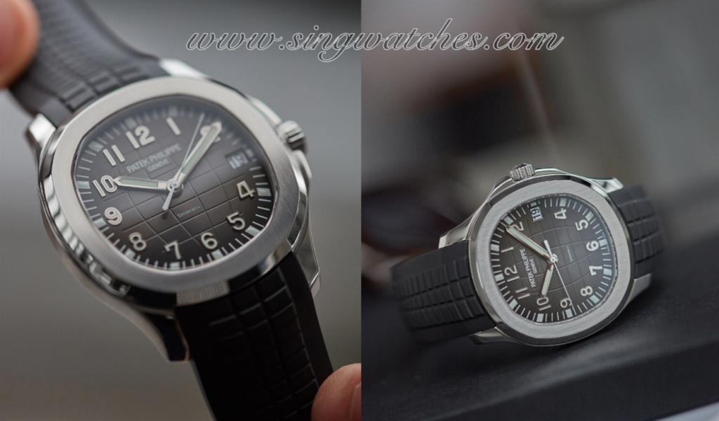 Patek Philippe Aquanaut 5167 Replica Watch Review